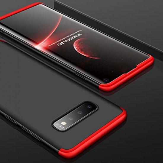 GKK Samsung Galaxy S10e Θήκη 360 Full Body - Black / Red