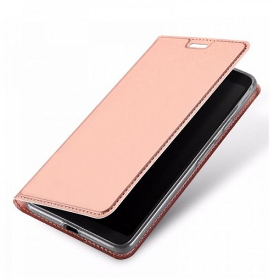 Dux Ducis Samsung Galaxy A10 Flip Stand Case Θήκη Βιβλίο - Rose Gold