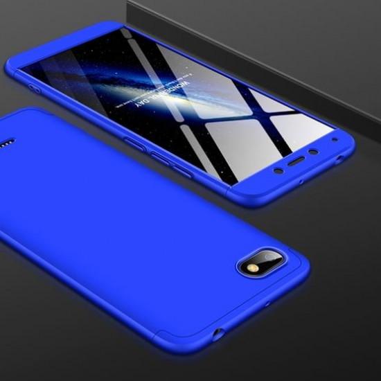 GKK Xiaomi Redmi 6a Θήκη 360 Full Body - Blue