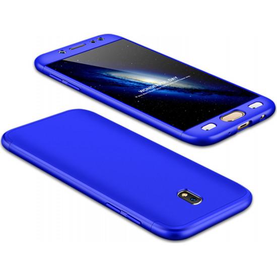 GKK Samsung Galaxy J7 2017 Θήκη 360 Full Body - Blue