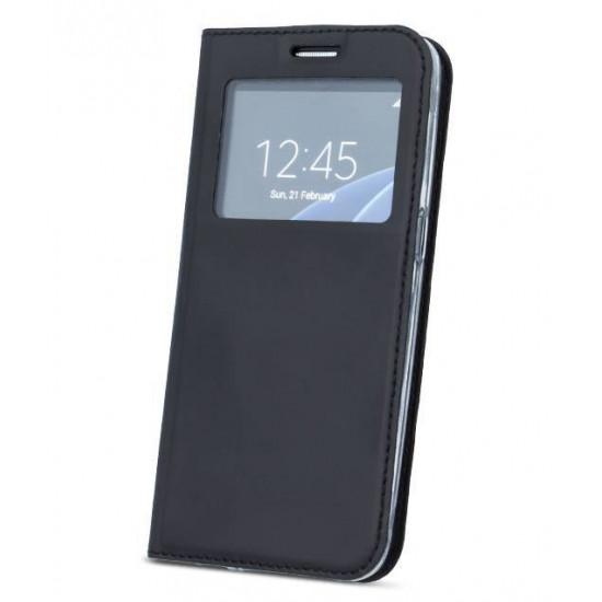 GreenGo for Xiaomi Redmi Note 4 (MediaTek) Smart Look Stand Case - Black