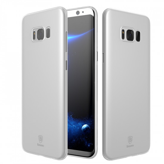 Baseus Ultra Thin Lightweight Wing TPU Case for Samsung Galaxy S8 Plus - White