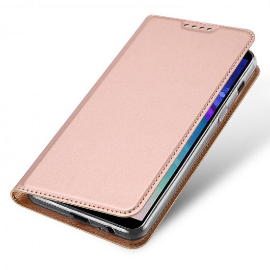 Dux Ducis Samsung Galaxy A6 2018 Flip Stand Case Θήκη Βιβλίο - Rose Gold