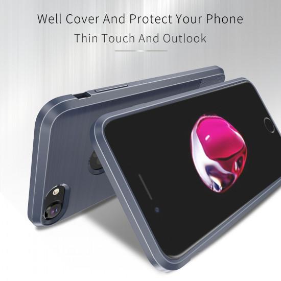 Dux Ducis Apple iPhone 7 / 8 Θήκη Σιλικόνης Mojo Carbon - Blue