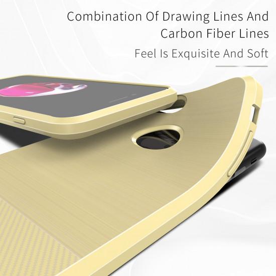 Dux Ducis Apple iPhone 7 / 8 Θήκη Σιλικόνης Mojo Carbon - Gold