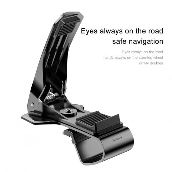 Baseus Mouth Car Mobile Holder - Universal Βάση Αυτοκινήτου - Black - SUDZ-01