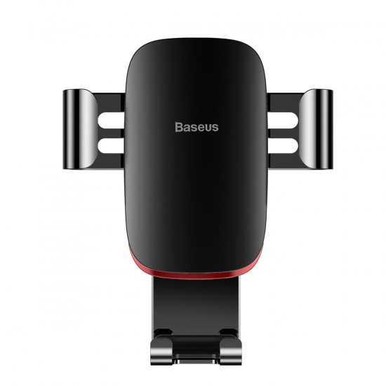 Baseus Metal Age Gravity Car Air Vent Mobile Holder - Universal Βάση Αυτοκινήτου Αεραγωγού - Black - SUYL-D01