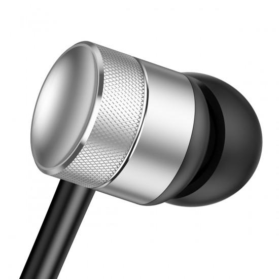 Baseus Encok H04 Handsfree Ακουστικά με Ενσωματωμένο Μικρόφωνο - Silver - NGH04-0S