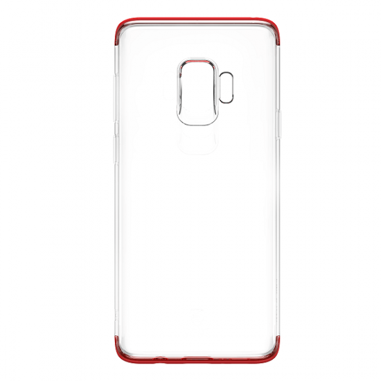 Baseus Armor Θήκη Σιλικόνης για Samsung Galaxy S9 - Red - WISAS9-YJ09