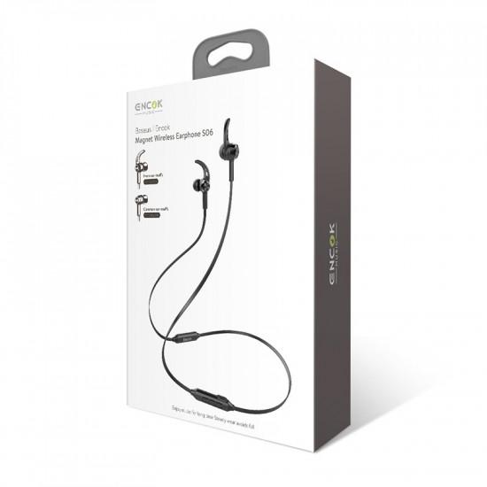 Baseus S06 Bluetooth Headset - Ασύρματα Ακουστικά για Smartphone / iPhone - Black - NGS06-01