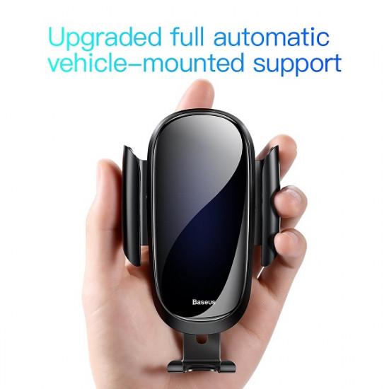 Baseus Future Gravity Car Air Vent Mobile Holder - Universal Βάση Αυτοκινήτου Αεραγωγού - Black - SUYL-WL01