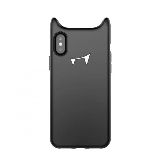 Baseus Apple iPhone X / XS Devil Baby Θήκη Σιλικόνης - Black - ARAPIPHX-XM01