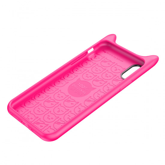 Baseus Apple iPhone X / XS Devil Baby Θήκη Σιλικόνης - Rose - ARAPIPHX-XM0R