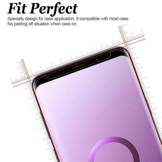 Lito Samsung Galaxy S9 0.33mm 3D Case Friendly 9H Full Screen Tempered Glass Αντιχαρακτικό Γυαλί Οθόνης - Black