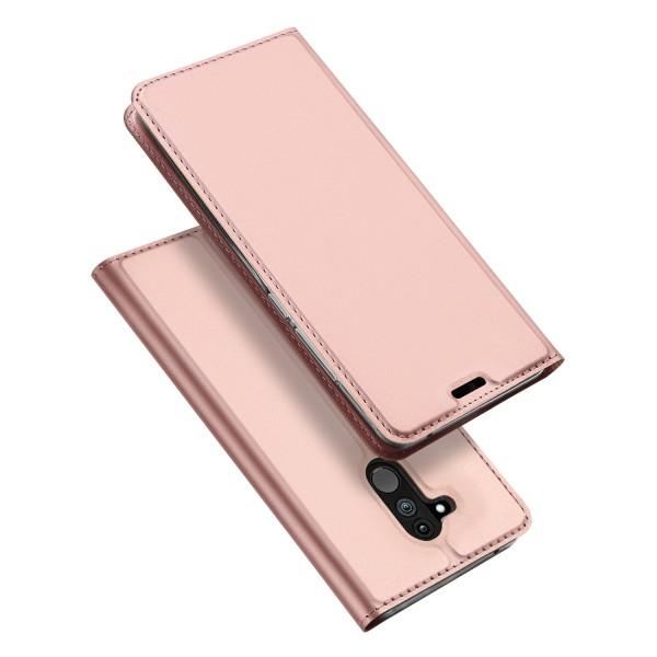 Dux Ducis Huawei Mate 20 Lite Flip Stand Case Θήκη Βιβλίο - Rose Gold
