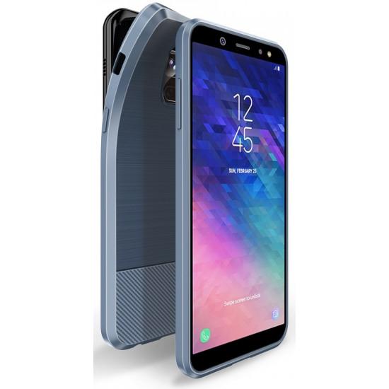Dux Ducis Samsung Galaxy A6 2018 Θήκη Σιλικόνης Mojo Carbon - Blue