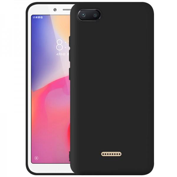 OEM Xiaomi Redmi 6a Θήκη Σιλικόνης Matte - Black