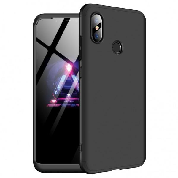 GKK Xiaomi Redmi Note 6 Pro Θήκη 360 Full Body - Black