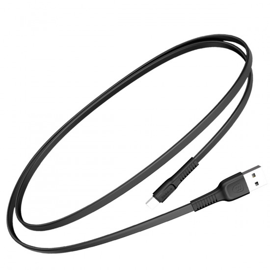 Baseus Tough Series USB Type-C Cable 2A - Υψηλής Ταχύτητας Καλώδιο USB Type-C 1M - Black - CATZY-B01