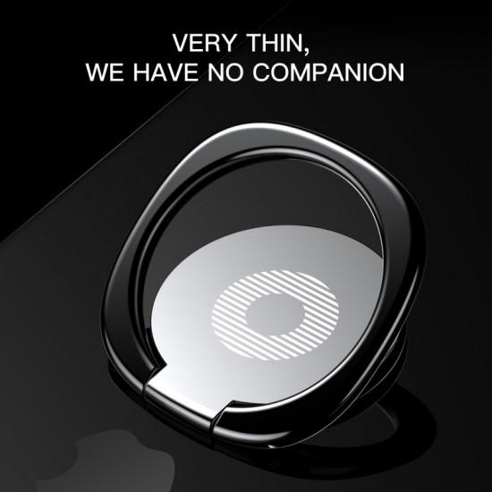 Baseus Privity Ring Holder - Δαχτυλίδι Συγκράτησης Κινητού / Tablet - Βάση Στήριξης - Silver - SUMQ-0S