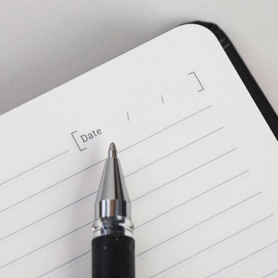 FORBES Κλασσικό Σημειωματάριο - Black - F20-01