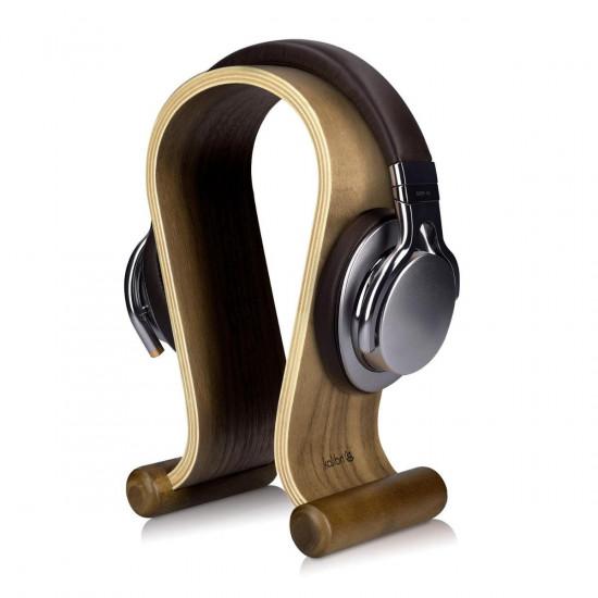 Kalibri Βάση Ακουστικών από Ξύλο - Walnut Brown - 39069.05