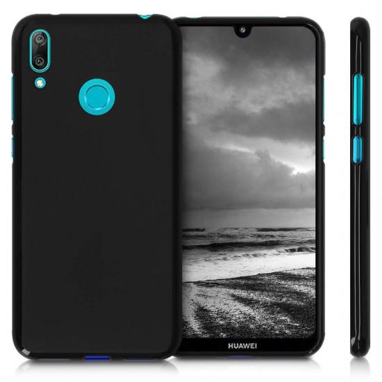 KW Huawei Y7 2019 / Y7 Prime 2019 Θήκη Σιλικόνης TPU - Black Matte - 47660.47