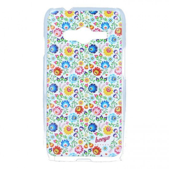 Beeyo Floral Piece of Art 3D Hard Case for Samsung Galaxy Trend 2 Lite