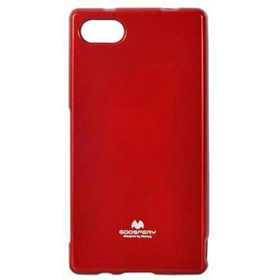 Mercury Jelly Premium Slim Case for Sony Xperia Z5 Compact – Red