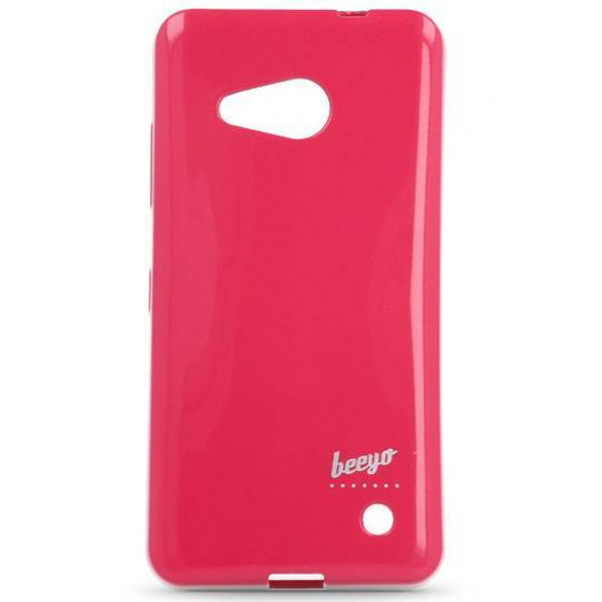 Beeyo Spark Jelly Premium Slim Case for Microsoft Lumia 550 – Pink