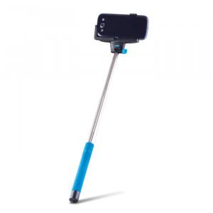 Forever MP-100 Bluetooth Monopod Selfie Stick - Blue